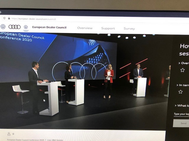 12.11.2020 – 61st EDC Conference (virtually) in cooperation with AUDI AG